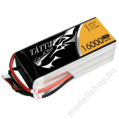 Gens Ace Tattu 16000mAh 6S 30C li-po akku