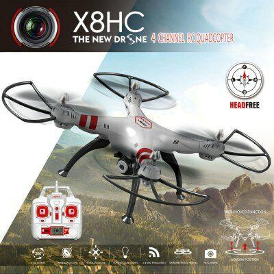 Syma X8HC kamerás quadcopter (arany)