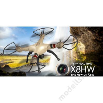 Syma X8HW FPV quadcopter (arany)