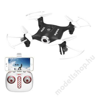Syma X21W fpv drón magasságtartással (fekete)