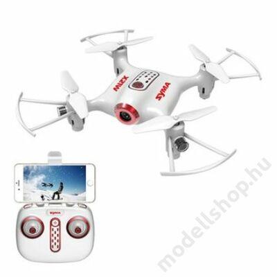 Syma X21W fpv drón magasságtartással (fehér)