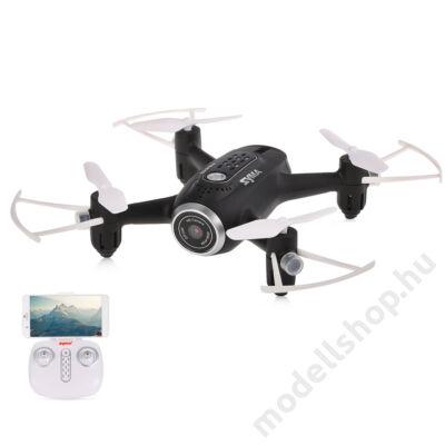 Syma X22W FPV drón magasságtartással (fekete)