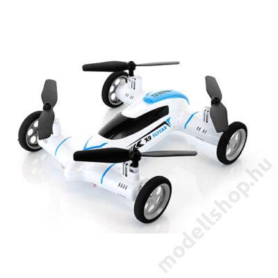 Syma X9S drón és rc autó egyben (fehér)