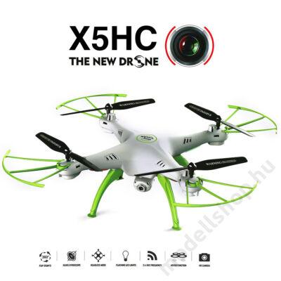 Syma X5HC HD kamerás quadcopter (fehér)