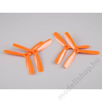 BeeRotor 5x4.5 3-tollú bullnose légcsavar szett (narancs)