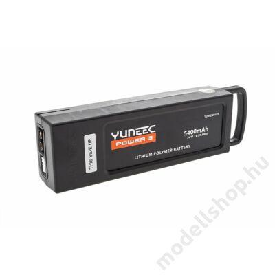 Yuneec Q500 4K 3S 5400mAH LiPo pack