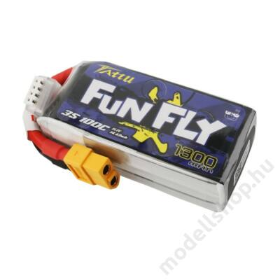 Gens Ace Tattu Fun Fly 1300mAh 3S 100C li-po akku
