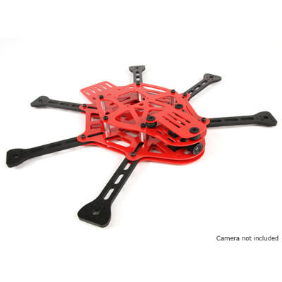 Thorax mini FPV hexacopter váz (piros)