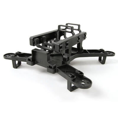 Spidex 220 racer quadcopter váz (fekete)