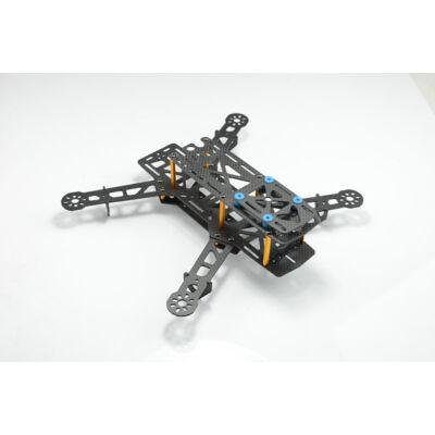 QAV280 racer quadcopter váz (üvegszál)