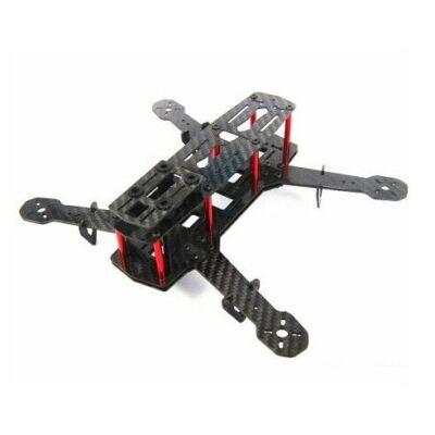 H250 mini racer quadcopter váz (carbon-üvegszál)