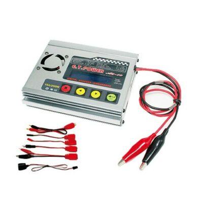 G.T Power A610 digitális töltő (200W/10A)