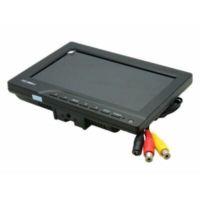 "7"" LCD FPV monitor napellenzővel"