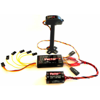 EagleTree Vector repülésvezérlő (OSD, GPS, PSU)